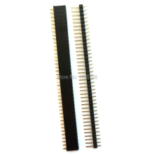 New 10 Pairs 40 Pin 2.54mm Male & Female SIL Header Socket Row Strip PCB Connector Hot Sale Product
