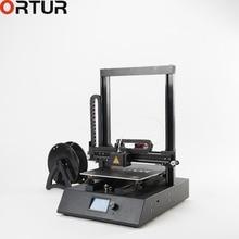 Ortur фабрика 3d принтер Осенняя версия на шкивах линейная направляющая алюминиевая платформа плюс большой размер печати Настольный с послойным наплавлением принтер