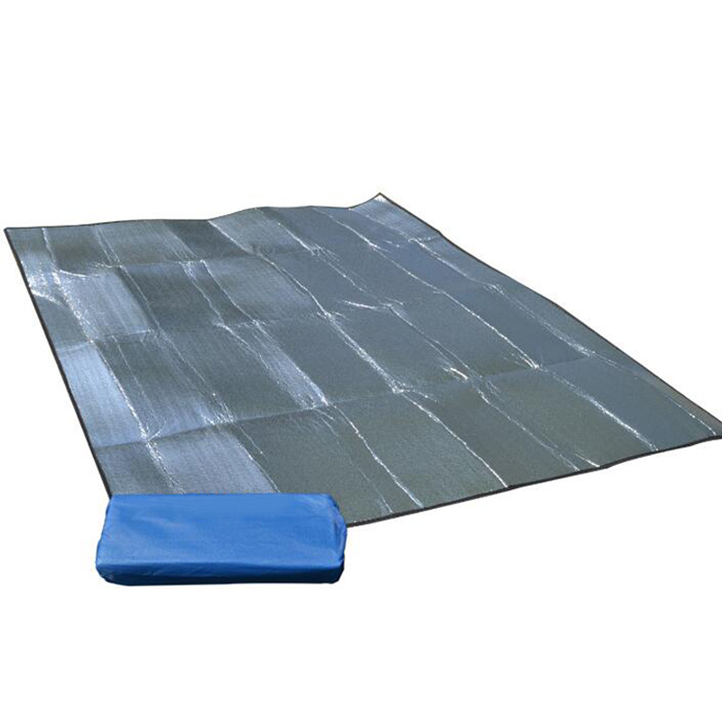 150*200 CM Outdoor Sport EVA Dust-proof Mat Aluminum Foil Moisture Proof Camping Tent Blanket Cushion Hiking Tools