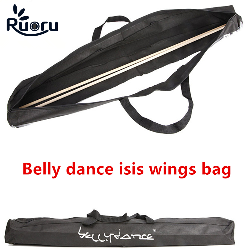 Ruoru Belly-Dance-Accessories Wing-Bags Isis Professional Kids Adult for Storage