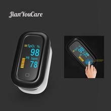 Medical Finger Pulse fingertip Oximeter Oled Touch Full Screen spo2 Blood Oxygen Heart Rate Saturometro Monitor Oximetro De Dedo