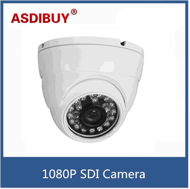 HD SDI camera 1080P 1/2.8''Sony Exmor Sensor digital security camera Indoor dome SDI cam 24IR 3.6MM home cctv camera stellar h 264 1080p sony sensor cctv camera metal waterproof 4pcs white light led hd camera indoor