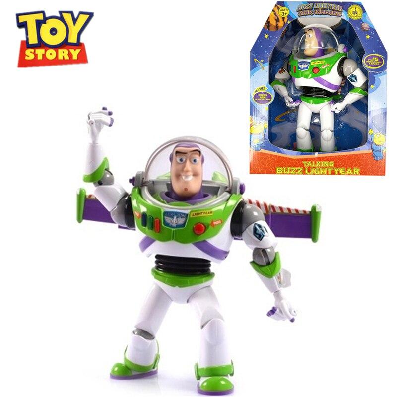 Disney Toy Story 4 jouets Pixar Buzz Lightyear peut parler Woody Forky Alien figure d'action jouets pour enfants cadeau d'anniversaire