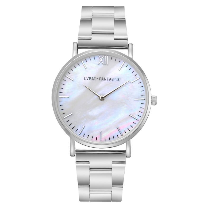 #5001 Leisure Fashion Woman Watch Lvpai Women's Watch Steel Belt Quartz Wrist Watch