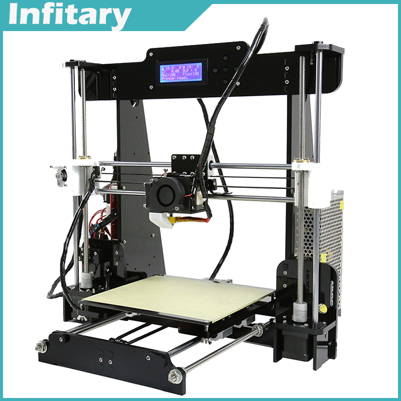 2016 Newest upgrade Reprap Prusa i3 3d printer DIY Kit with 25M Filament 8GB SD Card Free Shipping 3d-printer