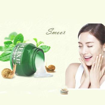 Meixi Snail White Cream Face Care Cream Moisturizing Anti-Aging Acne Anti Wrinkle Whitening Snail Cream Material From Korean 30G недорого