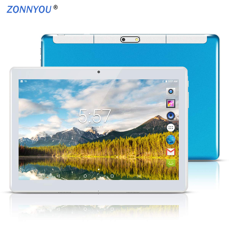 10.1 inch Tablet 2.5D Steel Screen Android 8.0 Octa Core 4 GB RAM 32 GB ROM S-IPS Wi-Fi Bluetooth GPS Tablet PC 10.1 + Gift