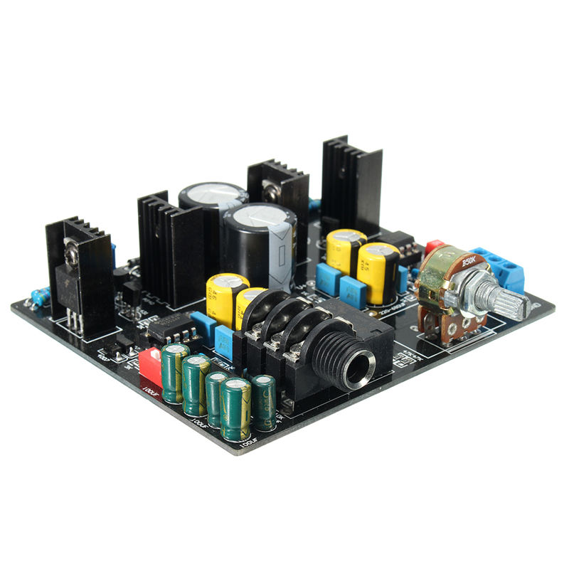 New Different Quality TPA6120A NE5534 Headphone Board Stereo ADC UPC1237 Protective Circuit Best Price