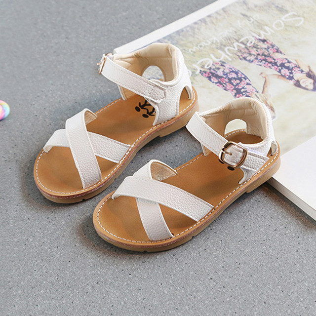 Children S Sandals For Girls Shoes Summer Kids Baby Sandals Cross  Comfortable Soft Beach Shoes Fashion Child Casual Sandals b5f26474fe00