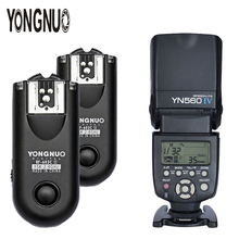 YONGNUO YN-560 IV 2.4G HSS 1/8000s Wireless Flash Speedlite With Manual Flash Trigger 2*RF-603II For Canon Nikon DSLR Camera universal camera inseesi in 560 iv plus wireless flash or viltrox jy 680a flash speedlite with lcd screen for canon nikon pentax