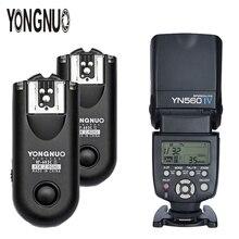 YONGNUO YN-560 IV YN560IV 2.4G Wireless Flash Speedlite With Manual Flash Trigger 2*RF-603II For Canon Nikon DSLR Cameras