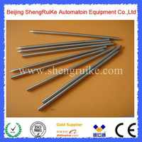 Sharp Pointed 2*130mm Pt100 thermocouple Tube Stainless Steel