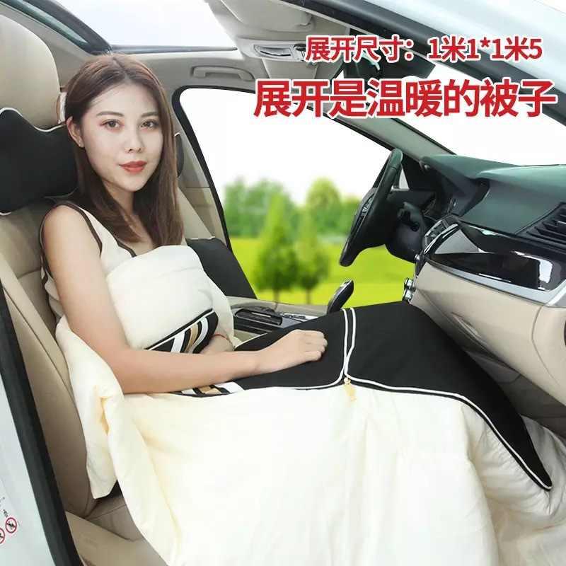 Подушка для автомобильного кресла подголовник подушка задняя подушка Милая ПП хлопок полиэстер автомобильные аксессуары авто продукты одеяло