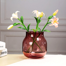 Modern Creative vase Multicolor Glass  home decorative glass bottle Terrarium Hydroponic Container wedding Home Decoration