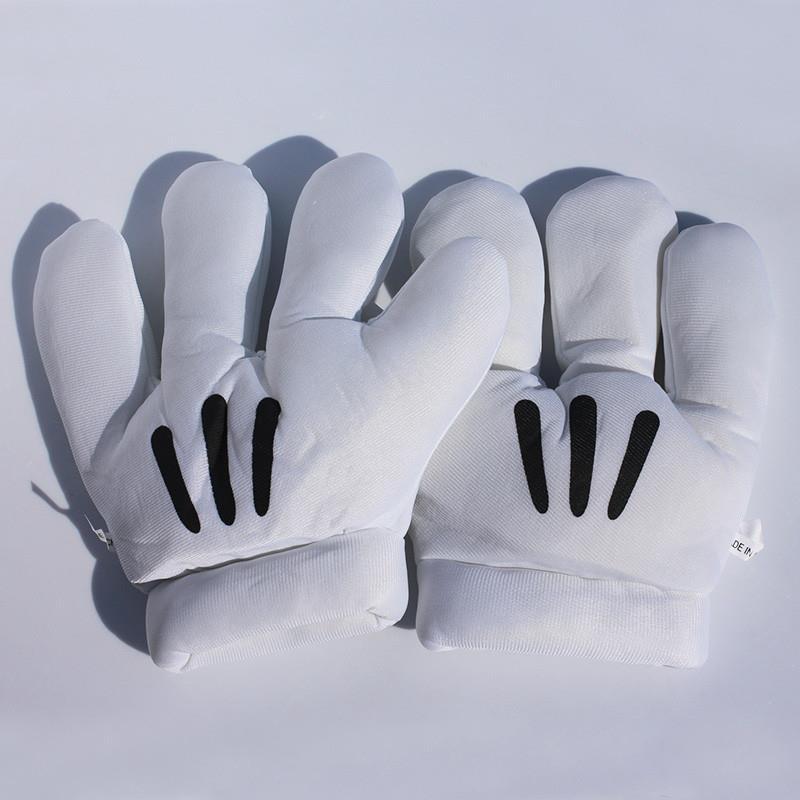 Free Shipping 1 Pair 1025cm  cartoon Stuffed Plush Gloves Gift For ChildrenFree Shipping 1 Pair 1025cm  cartoon Stuffed Plush Gloves Gift For Children