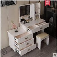 Jane Europe dressing table bedroom multi functional princess economy 60 small family mini assembly dresser.