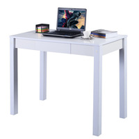 Study Desk Computer Table Drawer Modern Decor Furniture Home Office HW51325WH