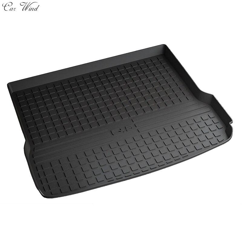 Car wind car trunk mat for Audi A4 A4L A3 A6 A6L a7 Q3 Q5 Q7 Cargo Liner Interior Accessories Carpet Floor mat foot mats