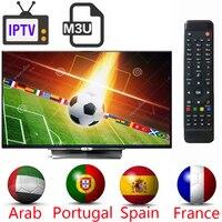 2018 для IPTV приемник подписки профессиональной португалия испания арабский французский IPTV на каналы бесплатная доставка