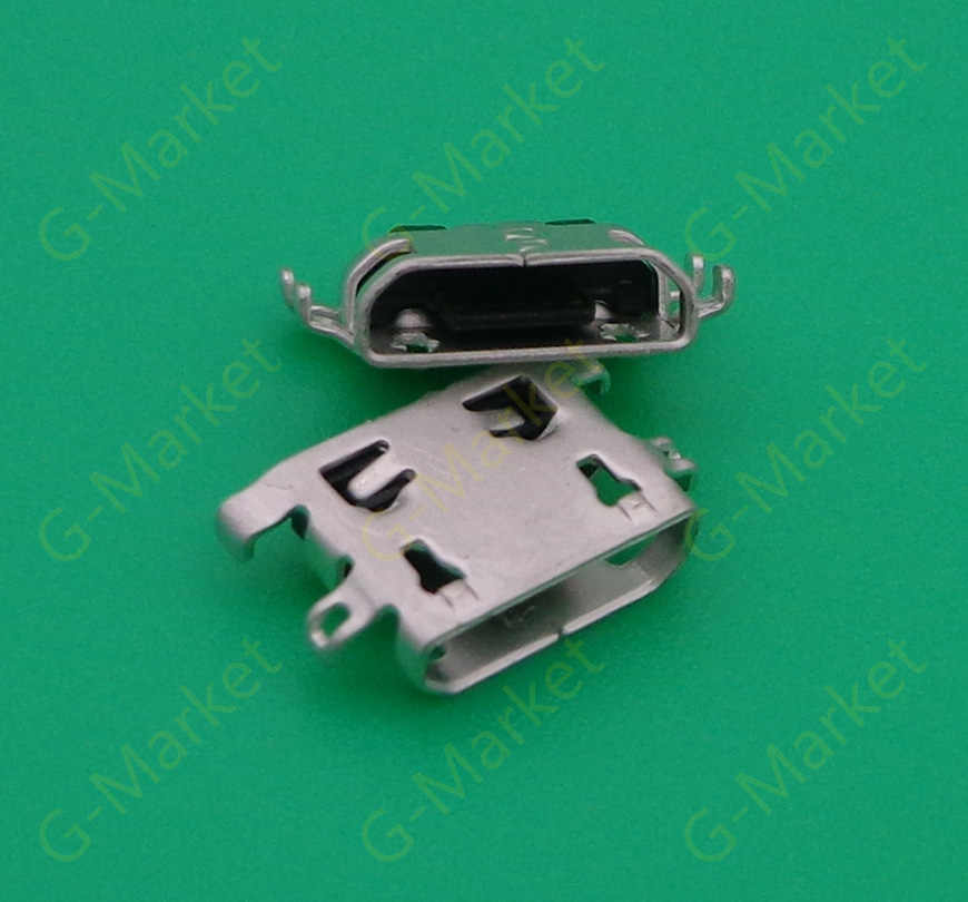 50 Pcs untuk Lenovo K6 Catatan K6Note K53a48 Mini Micro USB Port Pengisian Dock Konektor Soket Power Plug Dock