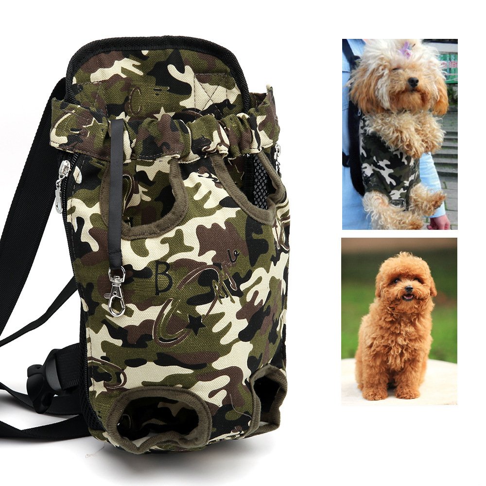 Lekexi Top Quality Pet Dog Backpack Carrier Bag Cat Dog Doggy Outdoor Travel Supplies Double Shoulder Bag Dogs Package Products