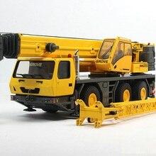 Коллекционная литая игрушка модель подарок TWH 1:50 Ratio ГМК 3055 внедорожный кран грузовик Инженерная техника игрушка модель украшения