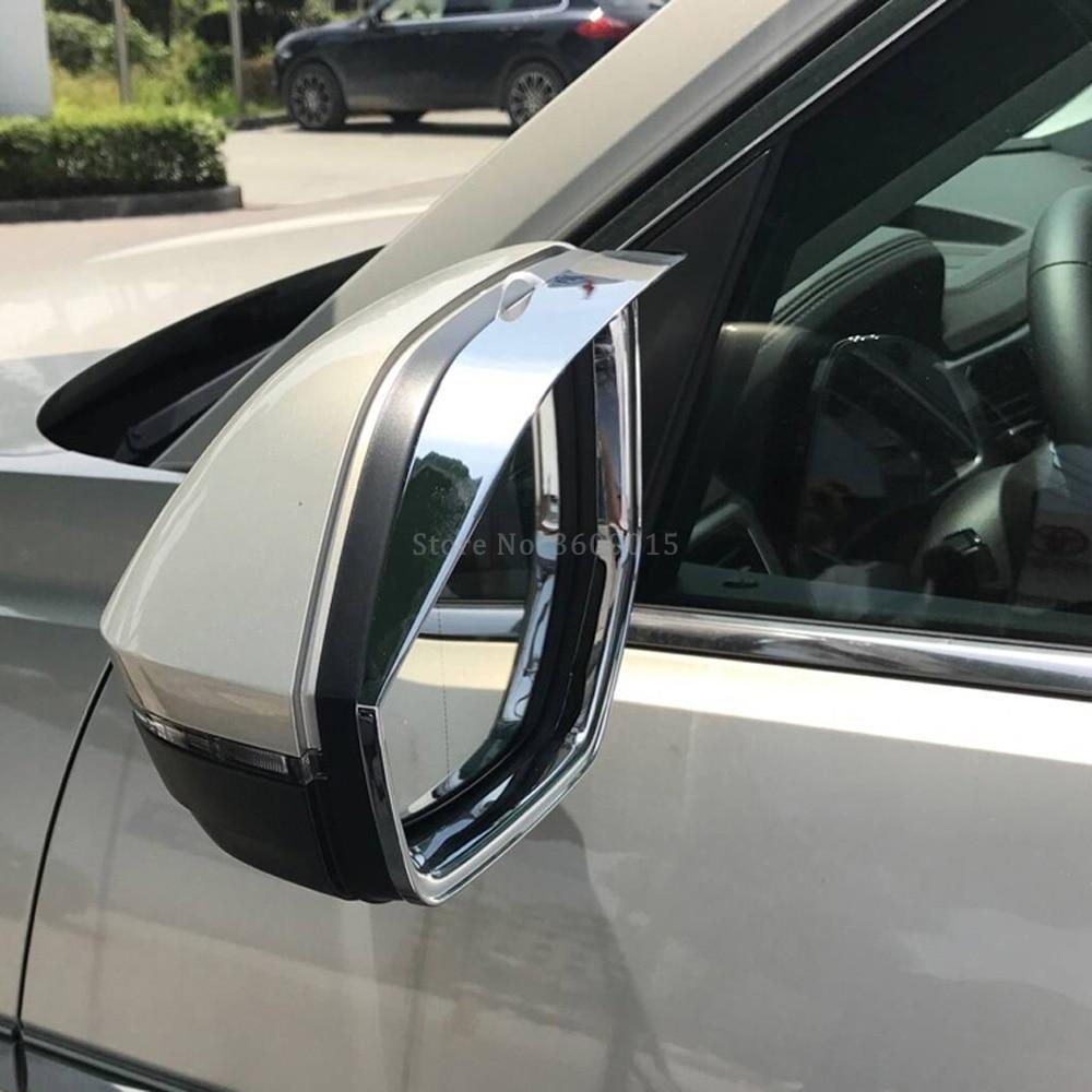 For Volkswagen VW Atlas Teramont 2017-2019 Rearview Mirror Cover Strip Trim