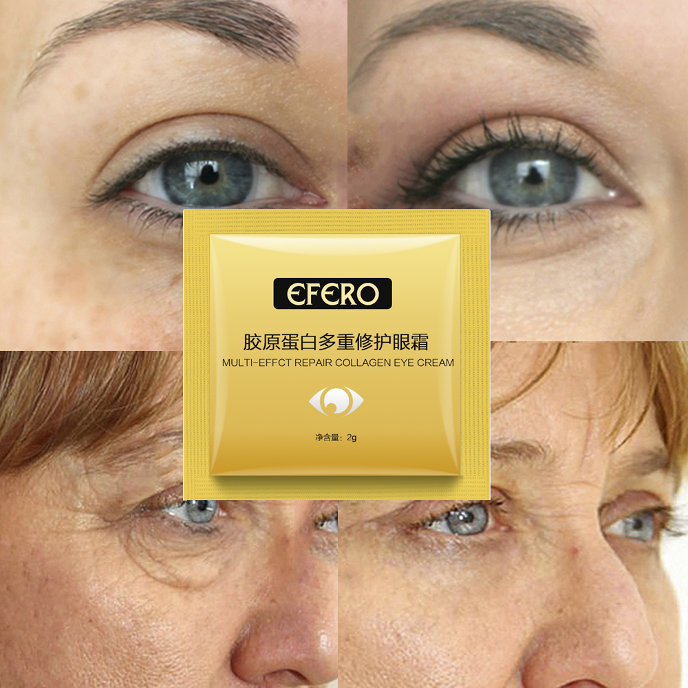 US $4 11 33% OFF|efero 20packs Eye Cream Anti Puffiness Remove Wrinkles  Argireline Eye Cream for Eye Bags Puffy Eyes Remove Anti Aging Face Serum  on