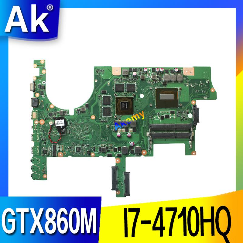 AK G751JM motherboard REV2 2 For ASUS G751J G751JM laptop mainboard 100 tested with I7 4710HQ