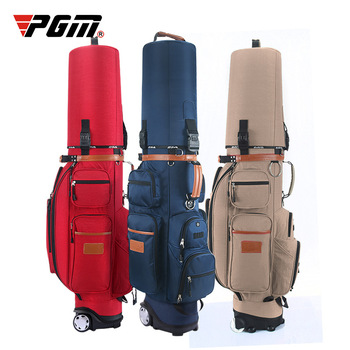 Authentic Golf Pulley Men Bag Multi-purpose Tug Standard Bag Capacity Wheel Combination Golf Cart Caddy Club Viation Sport Bag