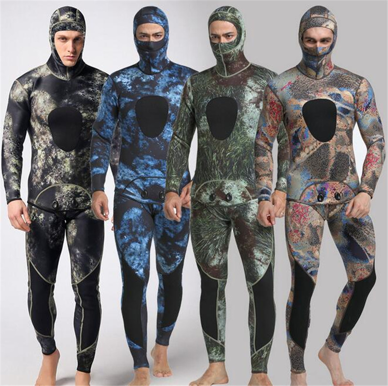 MYLEGEND Men 3MM font b Diving b font Suit Long Wetsuit font b Diving b font