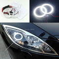 Para mazda 6 2007-2012 Mazda6 Ruiyi Excelente Ultrabright led Angel Eyes iluminação smd led Angel Eyes o Halo Anel kit