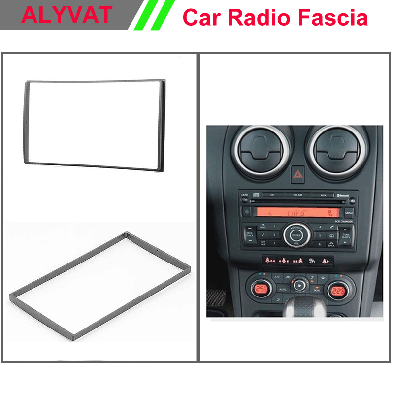 Car DVD CD Radio Surround facia trim CD dash kit for NISSAN Almera, Latio, Sunny ; Tiida ; X-Trail , Patrol ; Juke