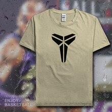 fdefa8974 Kobe Bryant t shirt men USA basketballer No. 24 lakers Black Manba jerseys  cotton t