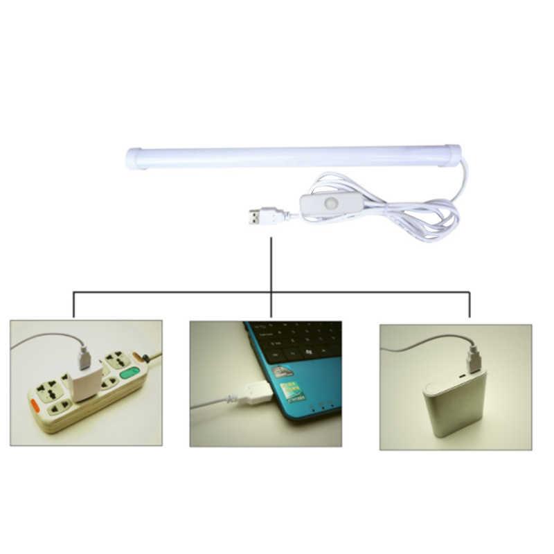 Neueste 5V USB 2M LED Streifen Bar USB LED Schreibtisch Tisch Lampe Licht für Nacht Buch Lesen Studie Büro arbeit Kinder Nacht Licht