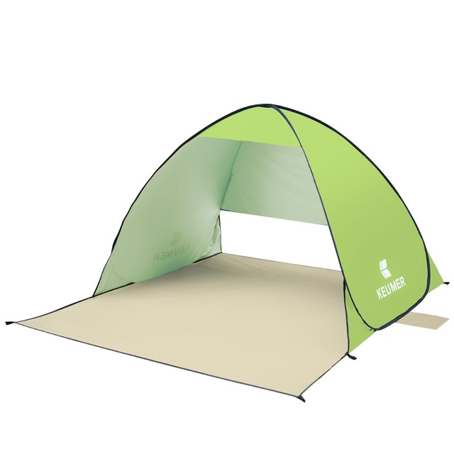 Automatic Camping Ultralight Tent Beach Tent 2 Persons Tent Instant Pop Up Open Anti UV Awning Tents Outdoor Sunshelter SES0052