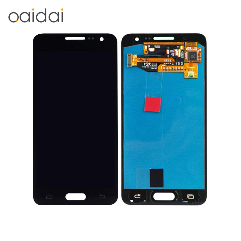 LCD Display Touch Screen Digitizer For Samsung Galaxy A3  A300X A300 A300H A300F A300FU 2015 Replacement Parts Free shipping brand new tested lcd display touch screen digitizer assembly for samaung galaxy e5 e500f h hq m f h ds replacement parts