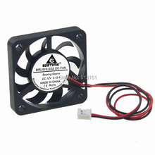 цены 2Pcs Gdstime Cooler 12V 2Pin 4CM 40mm 40x40x7mm DC Mini Brushless Cooling Fan
