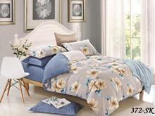 Комплект постельного белья двуспальный Cleo, цветы