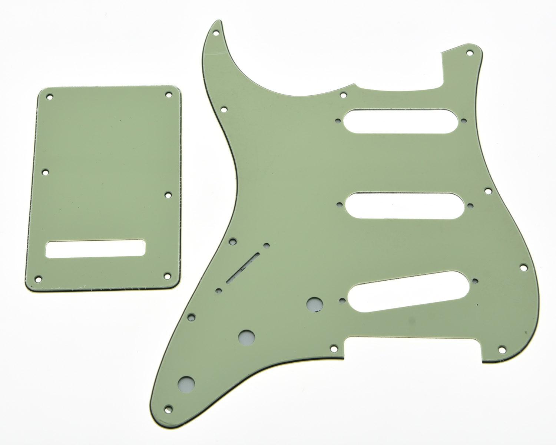 KAISH Lefty ST SSS Pickguard Left Handed Trem Cover Set Mint Green