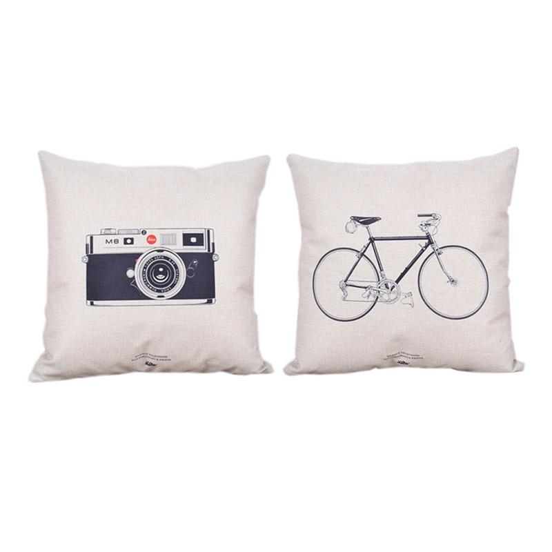 Cushion Cover Printed Plain Decorative Cushion Covers 45*45 Pirate Seat Covers Game of Thrones Chair Chair Pilow Bts Cushion