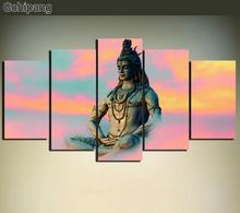 Картина из холста «Будда» без рамки современная живопись декор