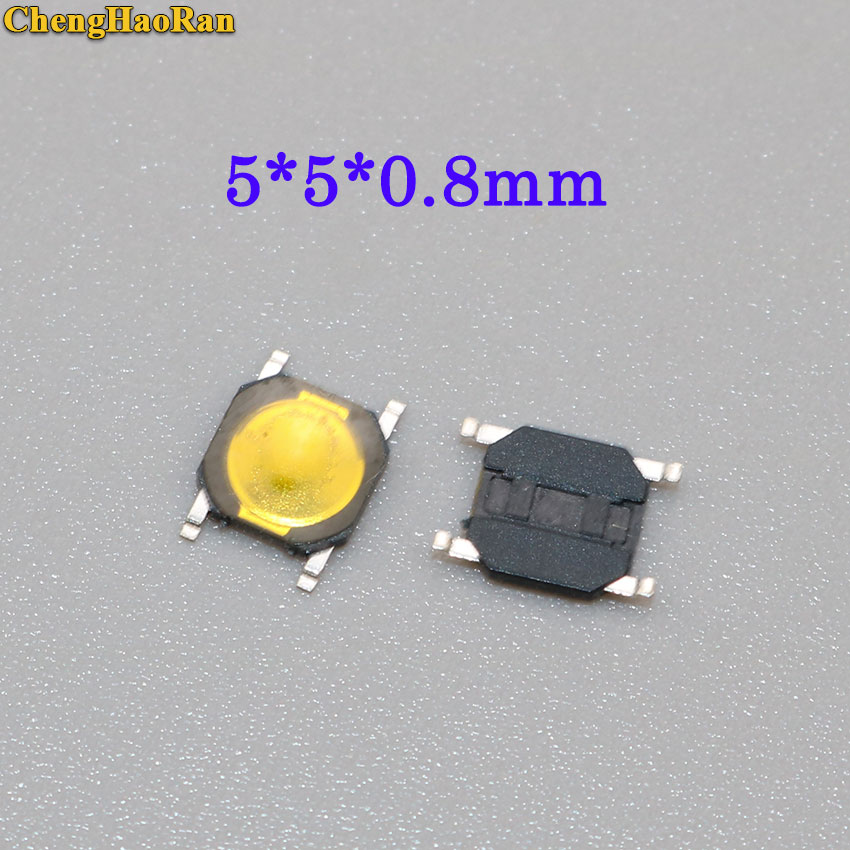 Lights & Lighting Switches Aspiring Chenghaoran 50-100pcs Metal Dome 5*5*0.8mm Thin Film Touch Switch 4 Feet Foot Patch Micro Button Switch 5*5*0.8 Mm