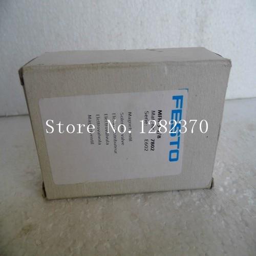 [SA] New original authentic special sales FESTO solenoid valve MFH-3-1 / 8 Spot 7802 --2PCS/LOT [sa] new original special sales festo regulator lr 1 8 doi mini spot 192304 2pcs lot