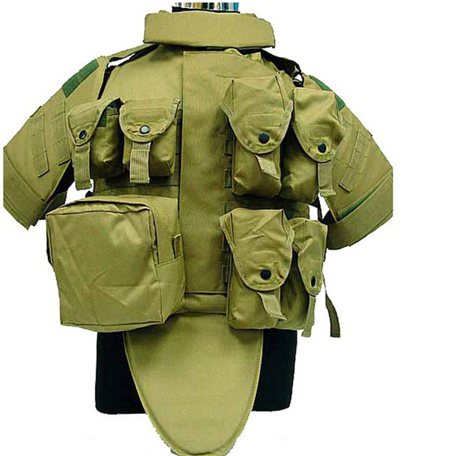 b881b962587 4 colors Paintball Airsoft game OTV Body Armor Carrier Tactical Vest Coyote  Brown colete molle military