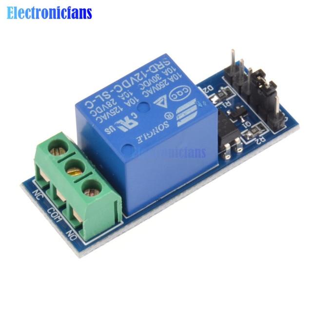 12v 1 channel relay module optocouple board shield for pic avr dsp rh aliexpress com