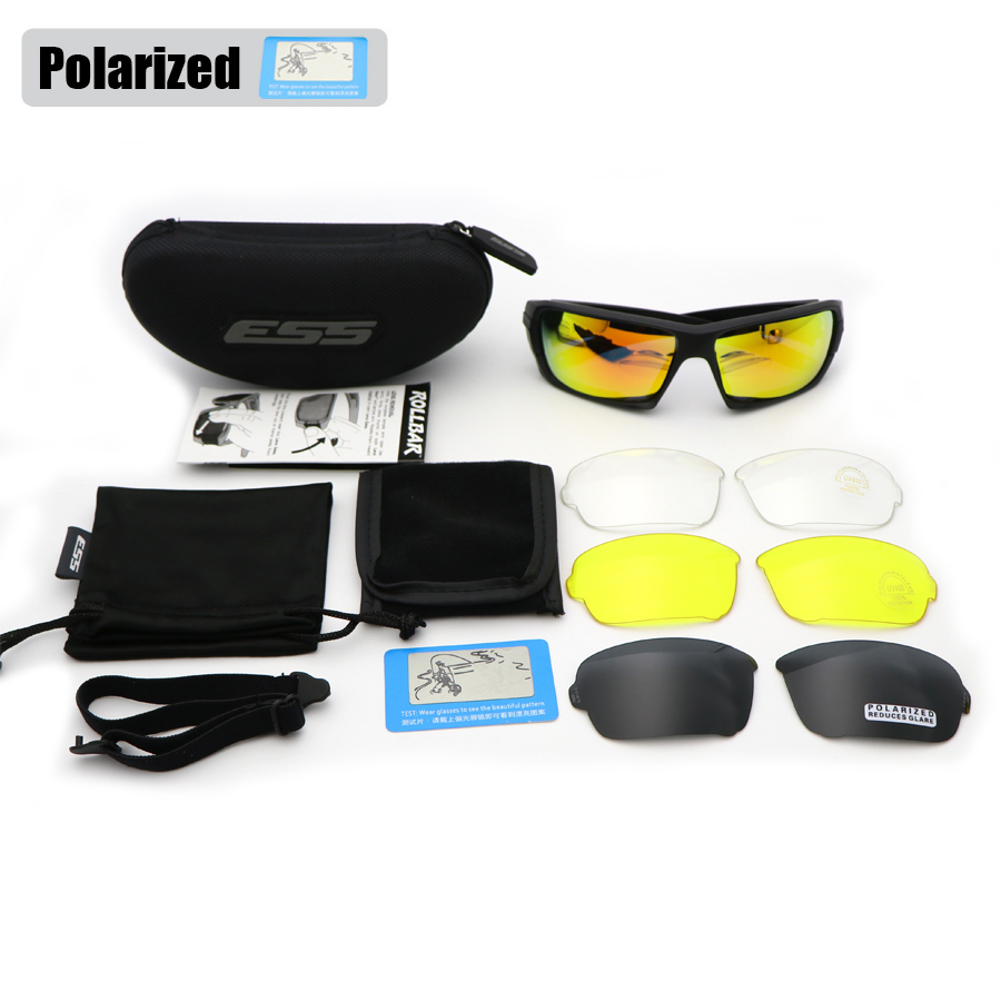 550ad20abf ESS ROLLBAR Polarized Tactical Sunglasses Military Glasses TR90 Crossbow  Army Goggles Ballistic .
