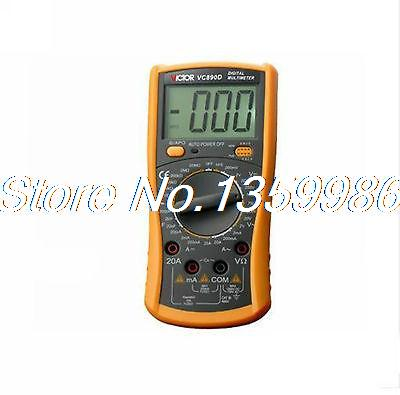 Plastic Shell Ohmmeter AC DC Testing  VC890D  3 1/2 Digital Multimeter high tech and fashion electric product shell plastic mold