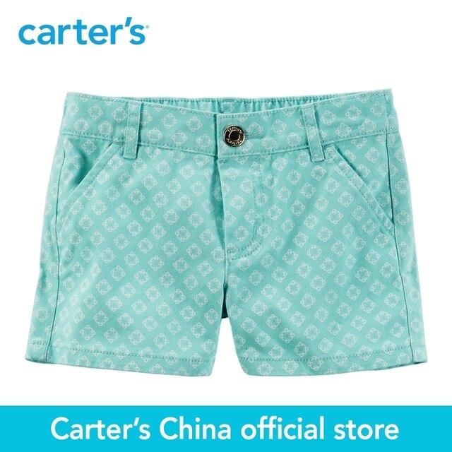 Картера 1 шт. детские дети дети Отпечатано Саржа Шорты 258G167, продавец картера Китай официальный магазин