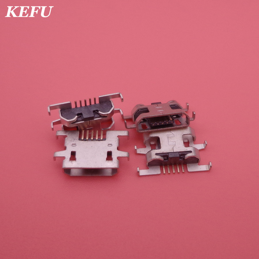 2pcs/lot Mini Micro USB Connector Charger Jack Charging Port socket plug dock replacement for UMI UIMI 4S U4S High Quality
